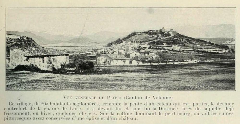 Vues_de_la_France_en_1900_-_1097_vue_generale_de_Peipin_canton_de_Volonne_departement_des_Basses-Alpes_devenues_Alpes-de-Haute-Provence